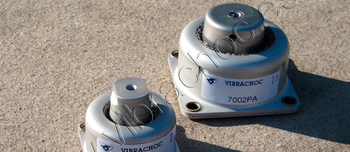 Amortiguadores 7002 y MV-7001 de Vibrachoc