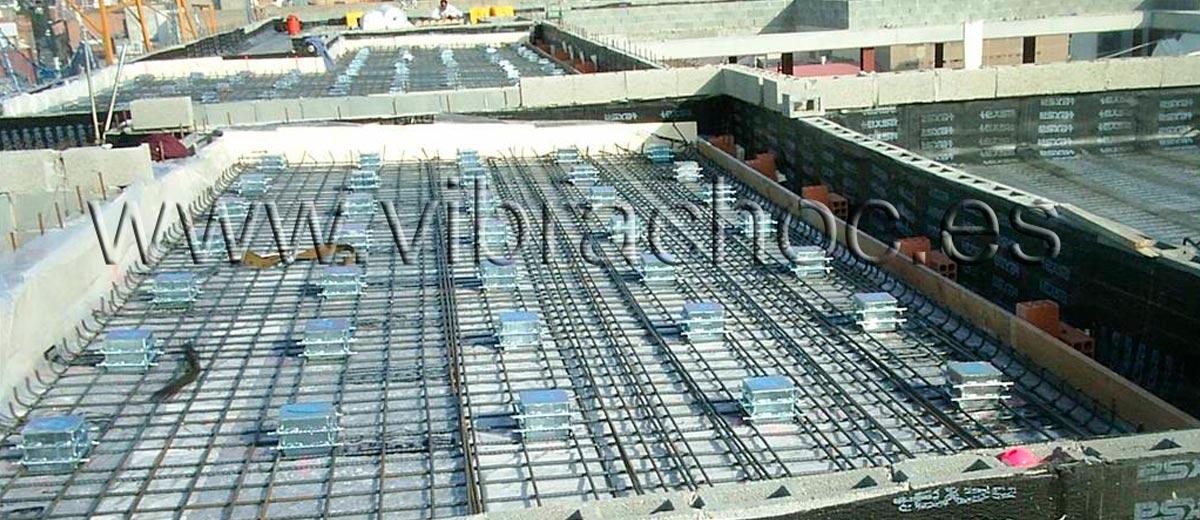 VIBRAFLOT® nuevo Sistema Antivibratorio para suelos flotantes