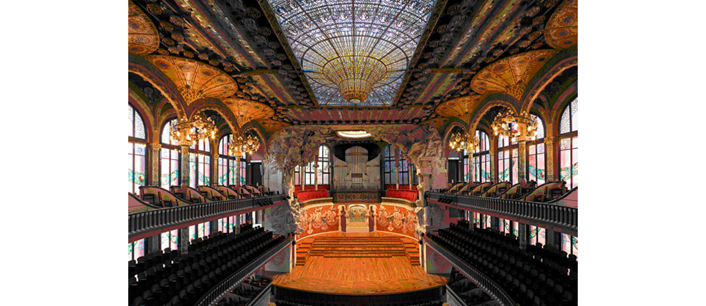 Vibrachoc en el Palau de la Música catalana